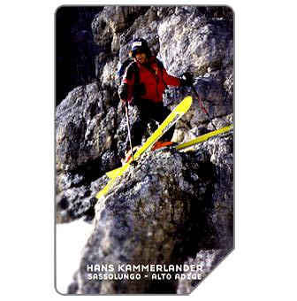 Phonecard for sale: Hans Kammerlander, Alto Adige, 31.12.2005, € 5,00