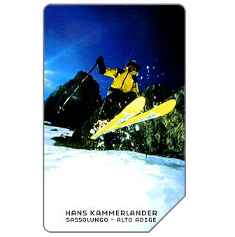 Phonecard for sale: Hans Kammerlander, 31.12.2005, € 5,00
