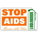 Phonecard for sale: Stop AIDS, 30.06.2005, € 5,00