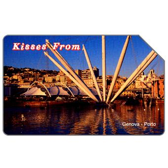 Phonecard for sale: Kisses from Genova, 31.12.2005, € 5,00
