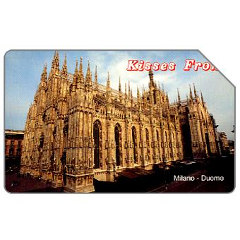Phonecard for sale: Kisses from Milano, 31.12.2005, € 5,00