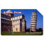 The Phonecard Shop: Italy, Kisses from Pisa, 31.12.2005, € 5,00