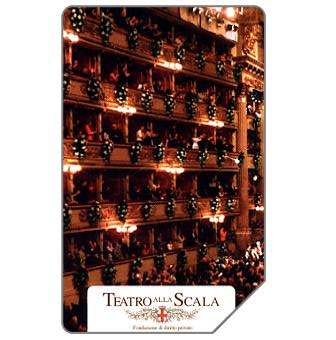 Phonecard for sale: Teatro alla Scala, 31.12.2005, € 5,00