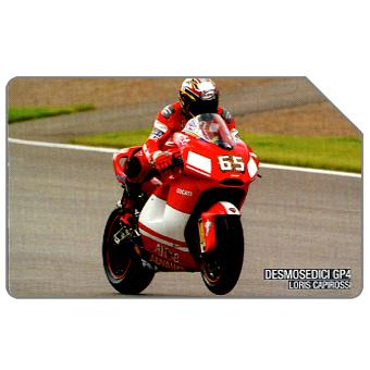Phonecard for sale: Ducati GP4, Loris Capirossi, 31.12.2005, € 5,00