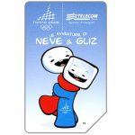 Phonecard for sale: Torino 2006, Neve & Gliz, 31.12.2006, € 3,00