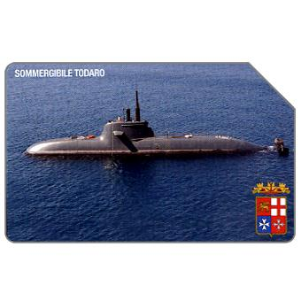 Phonecard for sale: Sommergibile Todaro, 30.06.2007, € 3,00