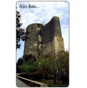 Phonecard for sale: Tower of Baku, 140 units