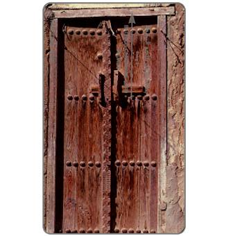 Traditional Bahrein, Traditional Door, shallow notch, 2BAHK, 50 units