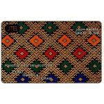 "The Phonecard Shop: Brunei, Traditional pattern, ""Call Through IDD"", B$10"
