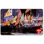The Phonecard Shop: Hong Kong, Scenery series, Decorations for Tin Hau Festival, $50