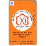 The Phonecard Shop: Indonesia, Telkom - Tenth Non-Aligned Summit, 100 units