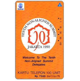 Telkom - Tenth Non-Aligned Summit, 100 units