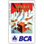 The Phonecard Shop: Indonesia, Telkom - National Election, BCA, 60 units