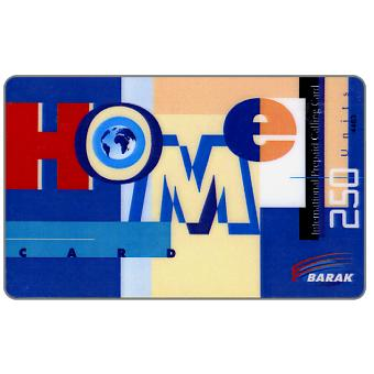 Phonecard for sale: Barak - Home, 250 units