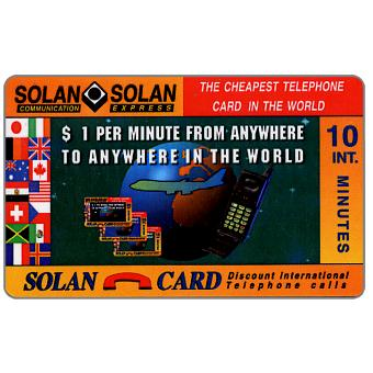 Phonecard for sale: Solan - $1 per minute, 10 minutes