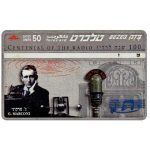 The Phonecard Shop: Israel, Centennial of Radio, Guglielmo Marconi, 50 units