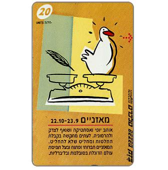 Phonecard for sale: Horoscope, Libra, 20 units