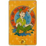 The Phonecard Shop: Israel, Walt Disney's Peter Pan, 50 units