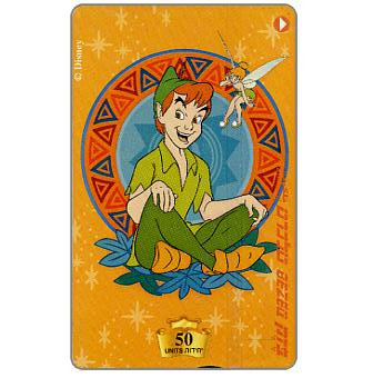 Phonecard for sale: Walt Disney's Peter Pan, 50 units
