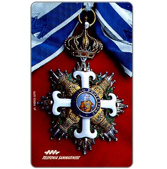 Phonecard for sale: Medal, L.18000
