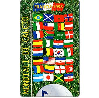 Phonecard for sale: Football Championships France 1998, L.2000