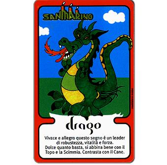 Phonecard for sale: Zodiaco Cinese, Drago, L.5000