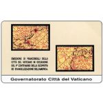 The Phonecard Shop: First issue, Stamps from Vatican City, Discovery of the Americas, L.5.000