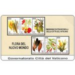The Phonecard Shop: Vatican City, Stamps from Vatican City, Flora from the New World, L.5.000