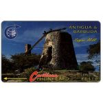 The Phonecard Shop: Antigua & Barbuda, Sugar Mill, 3CATA, EC$10