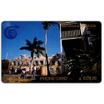 The Phonecard Shop: Nelson's Dockyard, 3CATC, EC$20