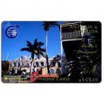 The Phonecard Shop: Nelson's Dockyard, 4CATB, EC$20