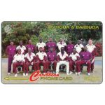 The Phonecard Shop: Antigua & Barbuda, West Indies Cricket Team, 222CATA
