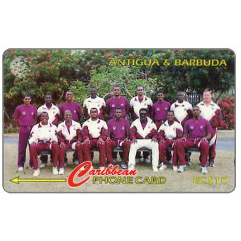 Phonecard for sale: West Indies Cricket Team, 222CATA