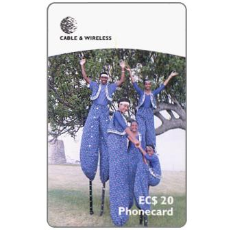 Phonecard for sale: Moco Jumbies, EC$20
