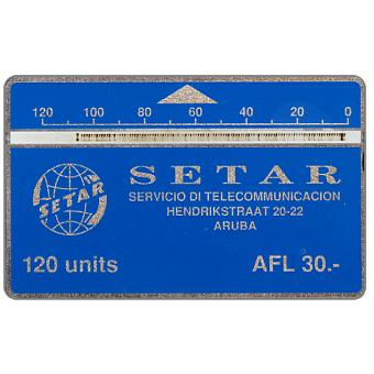 Phonecard for sale: Setar logo, 004B, 120 units