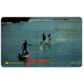Phonecard for sale: Fishermen, no logo, 5CBDB, B$20