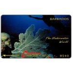 The Phonecard Shop: Barbados, Underwater, no logo, 5CBDC, B$40