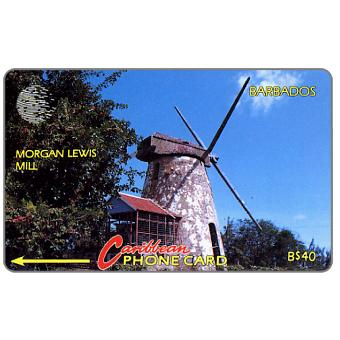 Phonecard for sale: Morgan Lewis Mill, 10CBDC, B$40