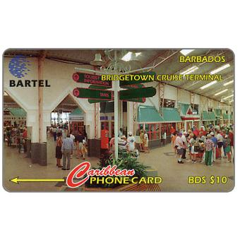 Phonecard for sale: Bridgetown Cruise Terminal, 58CBDB, B$10