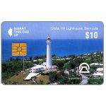 The Phonecard Shop: Bermuda, Gibes Hill Lighthouse, no control number, $10