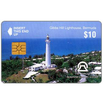Gibes Hill Lighthouse, no control number, $10