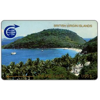 Phonecard for sale: Peter Island, 2CBVB, US$5