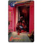 The Phonecard Shop: British Virgin Islands, Woman and child, 3CBVA, US$5