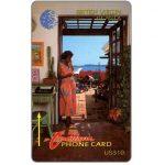 The Phonecard Shop: British Virgin Islands, Woman on phone, 10CBVA, US$10