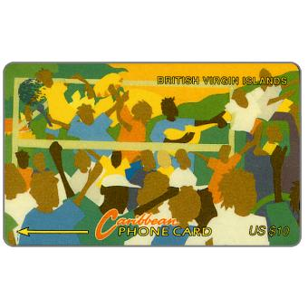 Phonecard for sale: Carnival, puzzle 2/3, 17CBVB, US$10