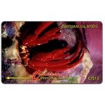 The Phonecard Shop: Cayman Islands, Hermit Crab, 4CCIB, CI$15
