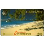 The Phonecard Shop: Beach Scene, 6CCIA, CI$30