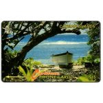 The Phonecard Shop: Boat on the beach, 6CCIB, CI$15