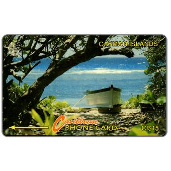 Boat on the beach, 6CCIB, CI$15