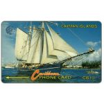 The Phonecard Shop: Cayman Islands, Schooner, 8CCIB, CI$10